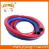 Tuyau jumeau de soudure de PVC de surface lisse flexible