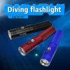 Colori di corpo morbidi dell'interruttore 3 del tasto di arconte V10s 860 torce subacquee di lumen LED