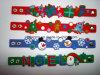 PVC Wristband de Santa/boneco de neve/Rudolf 3D para Christmas Gift/Decoration