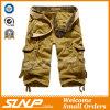 Pantaloni cachi del carico di estate degli uomini con le caselle laterali