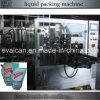 Empaquetadora rotatoria líquida automática con la bolsa del canalón