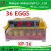 Petit oeuf automatique d'incubateur de poulet hachant la machine (KP-36)