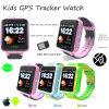 電話APP (Y12)が付いている子供GPSの追跡者の腕時計