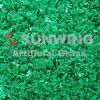 Il campo da giuoco pianta la pavimentazione che modific il terrenoare l'erba artificiale del tappeto erboso