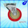 Logistic Shelf를 위한 PU Caster Wheel|보편적인 피마자|3 인치 산업 피마자|트롤리 피마자 (Jy-302)