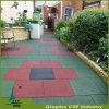 Carrelage en caoutchouc de protection de l'environnement de qualité pour le jardin