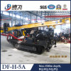 Portable 1500m Crawler Rotary Drilling Rig Df H 5A