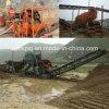 Usine de lavage de sable de silice d'usine de la Chine