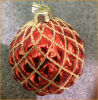 Natale Red Glass Ball (8cm)