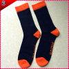 Gelbe Farben-Wolle-Mischungs-Socken