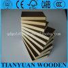 A madeira compensada 12mm, película enfrentou a madeira compensada Shuttering, madeira compensada macia