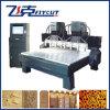 Venta caliente 8 husillos con la máquina de doble eje Z de madera CNC Router