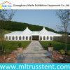 Tente de luxe de verrière de noce de structure mélangée en aluminium d'armature