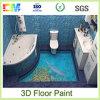 Pintura líquida anti del suelo de la resina de epoxy del álcali 3D
