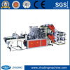 Photoelektrisches Tracking Doppeltes-Layer Six-Line Bottom Sealing Plastic Flat und Guseted Color Printed Bag Making Machine