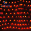 diodo emissor de luz Net Light de 2m Width Red Light com 8-Mode