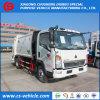 HOWO 5m3 komprimierter Abfall-LKW des Abfall-LKW-5000L