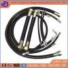 Boyau en caoutchouc hydraulique de spirale à haute pression de fil d'acier de la Chine