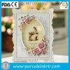 Frame clássico europeu da foto com flor bonita