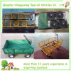 350kgs Capacity重いDuty Steel Wire Mesh Cart (TC1840A)