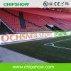 Pantalla al aire libre del perímetro LED del campo de fútbol de Suiza P10