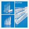 세륨, ISO, GMP, SGS, TUV를 가진 PE Package에 있는 Needle의 유무에 관계없이 의학 Disposable 3-Paers Luer Slip Syringe