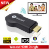 C2 Wecast Miracast TV Dongle Espejo Cast Android Mini PC TV Stick Airplay Dlna Soporte de Windows, Mac OS, IOS, Android