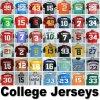 Maglia del Ncaa Basektball della Jersey di football americano dell'istituto universitario qualsiasi squadre e randelli