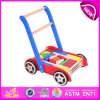Superiore Andare-Cart con Wooden Blocks, Cheap e Wooden variopinto Toy va Carts per Kids, Funny Wooden Baby Cart Toy Blocks W16e014
