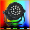 IP65 Outdoor Waterproof LED PAR Light en 18pcsx10W Passed RoHS