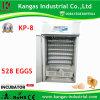 CE certifié retenant l'incubateur moyen complètement automatique d'oeuf 1326 de caille de caille d'oeufs