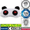 Animal de jouet de panda avec le masque d'oeil de bébé de lavande