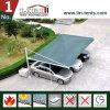 barraca do Carport do aço de 5.5X5.5m para o parque de estacionamento e o lote de estacionamento