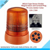 Ce-Mark Waring Light/Beacon Light /Warning Beacons di Cover IP56 del PC di Hella Type Magnetic Amber 12V/24V Strobe