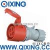 IEC Standard (QX-5)による耐候性がある16A Industrial Coupler