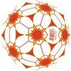 2015 Flashing High Quality PVC Inflatable Colorful Printing Ball (KH6-219)