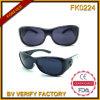 Glaces de Sun noires de gosses de lunettes de soleil des sports Fk0224