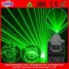 De groene be*wegen-HoofdVerlichting van de Disco van de Laser