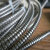 Conducto flexible bloqueado del doble del acero inoxidable