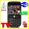 Téléphone portable duel du clavier QWERTY SIM WiFi TV de Quadruple-Bandes (C8000)