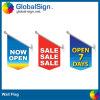 Magasin annonçant le drapeau imprimé polychrome de mur (GWF-A)