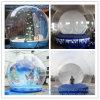 Decorazione gonfiabile trasparente di natale della sfera della neve