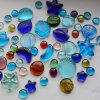Piedra cristalina irregular material decorativa