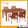 Im Freiengarten-Möbel-Puder-Sprühhotel-Stuhl und Tisch mit Aluminium