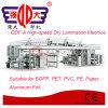 Macchina asciutta della laminazione BOPP di Qdf-a della pellicola ad alta velocità di serie