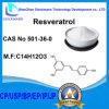 BulkPoeder 98% van het Uittreksel van de Wortel van Cuspidatum van Polygonum trans Resveratrol CAS 501-36-0