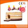 Geburtstag-Kuchen-aufblasbarer Prahler T1-604