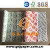 Papel impermeable a la grasa impreso 36GSM de madera de la pulpa del 100% para la venta al por mayor