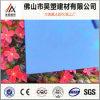 Feuille solide de l'enduit 6mm d'usine de Foshan Chine de polycarbonate Anti-UV direct de PC pour la serre chaude et la cloche agricoles d'élevage