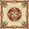 Tegel 1200X1200mm van de Vloer van het Kristal van het Tapijt van het Patroon van de bloem Tegel Opgepoetste Ceramische (BMP32)